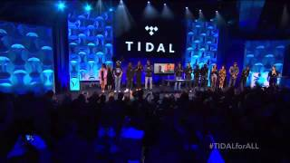 Music genius Jay-Z officially re-launches recently bought music app Tidal