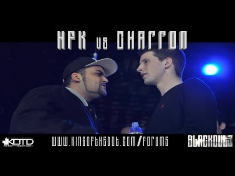 KOTD - Rap Battle - HFK vs Charron
