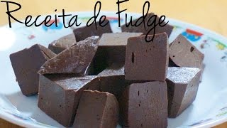 Receita de Fudge - Blog By Iris