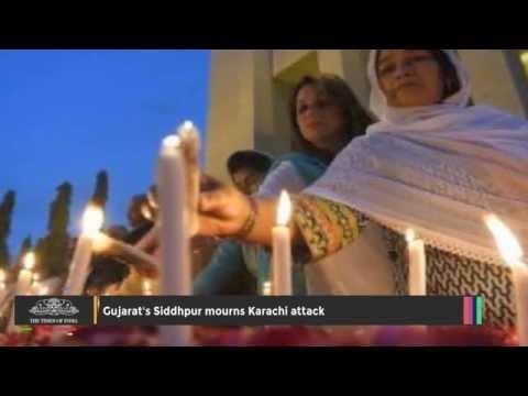 Gujarat's Siddhpur Mourns Karachi Attack