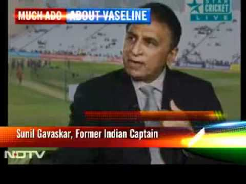 Vaseline row-  Gavaskar And Ravi Shastri slams Vaughan