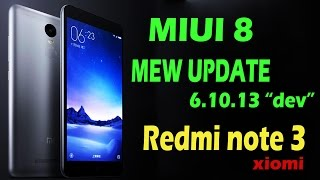 redmi note 3 new dev