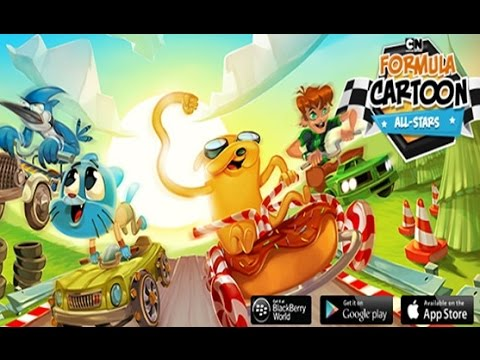 FORMULA CARTOON ALL-STARS - Android iPad iPhone App Gameplay Review [HD+] #03 ★ Lets Play