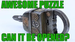 FOUR Key Puzzle Lock Review | PuzzleMaster