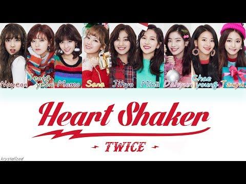 Download TWICE   Heart Shaker HANROMENG Color Coded Lyrics