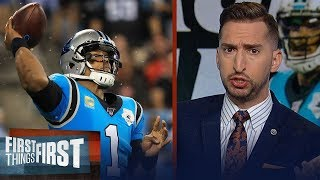 Cam Newton's shoulder is more of an issue and Panthers fans should panic | NFL | FIRST THINGS FIRST