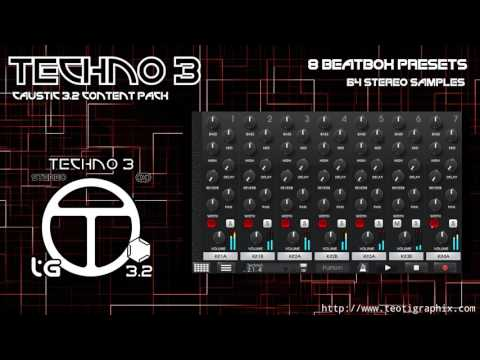 Caustic 3.2 Techno Pack 3 APK Cover
