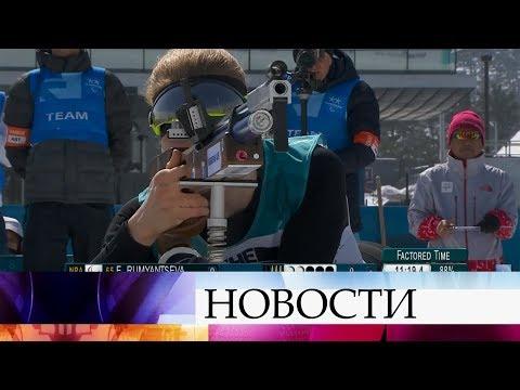 Триумф наших паралимпийцев в Пхенчхане - сразу три медали в первый день соревнований.