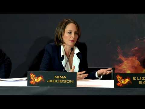 The Hunger Games: Mockingjay 2 Press Conference Berlin - Part 1