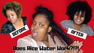 Does This Sh*t Work?   RICE WATER FOR SUPER FAST HAIR GROWTH