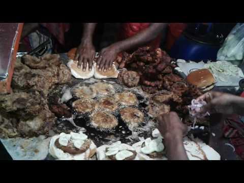 street Best Street Food Dhaka Bangladesh | Street Food Burger | Street Food In Dhaka |