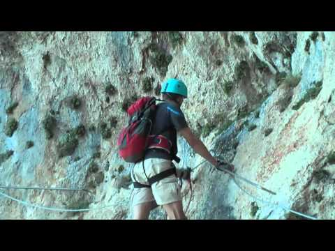 Via Ferrata in Maritime Alps (southern France)