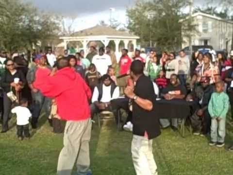 Big Phill Baby performance at Ray Mac's MLK Day Showcase at John Henry Beck Park....