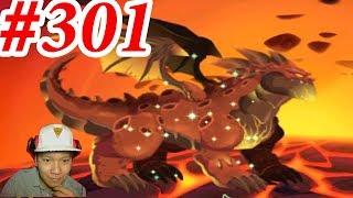 Rồng Nham Thạch Núi Lửa Dragon City HNT chơi game Nông Trại Rồng HNT Channel New 301