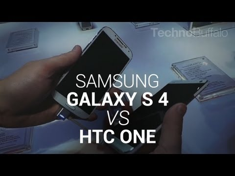 Video: Samsung Galaxy S 4 vs HTC One