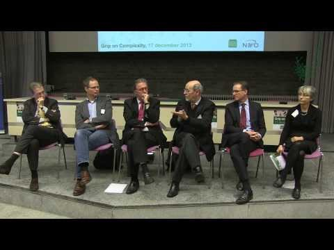 NWO KNAW meeting Grip on Complexity Panel Discussion