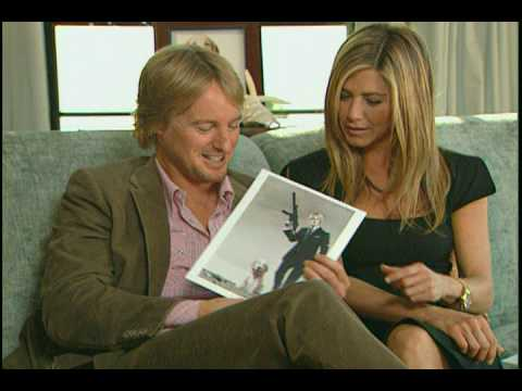 Jennifer Aniston and Owen Wilson funny Marley and Me interview