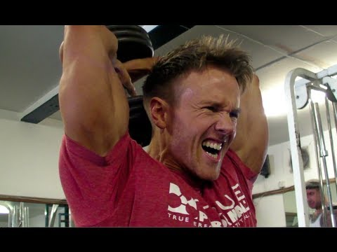 Rob Riches Triceps Workout