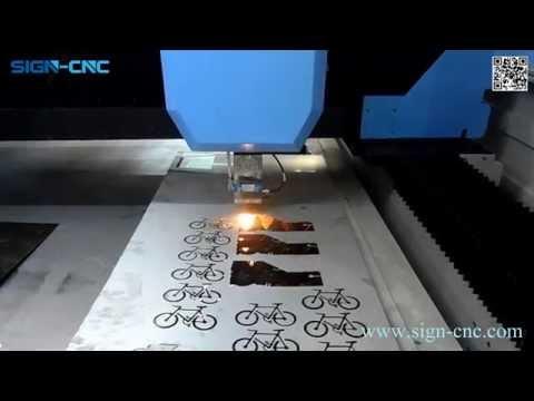 SIGN-CNC Fiber laser metal cutting machine