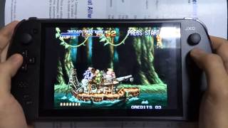 [01 Metal Slug 3 mame Acacd game review on jxd s7800b] Video