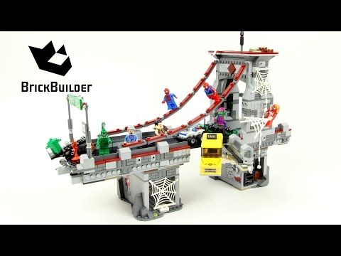 Lego Super Heroes 76057 Spider-Man: Web Warriors Ultimate  - Lego Speed Build