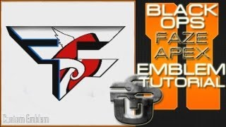 Faze Apex Logo : Call of Duty Black Ops 2 Emblem Tutorial
