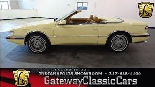 842-NDY 1989 Chrysler TC By Maserati