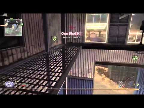 RANDOM KID HITS A TRIPLE AND A TRICKSHOT ALL IN 1 ROUND!