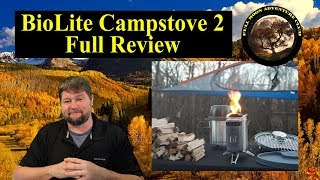 BioLite Campstove 2 Full Review - Charge Phones With Fire!