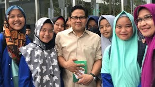 Kunjungi Islamic Book Fair, Cak Imin Beli Buku