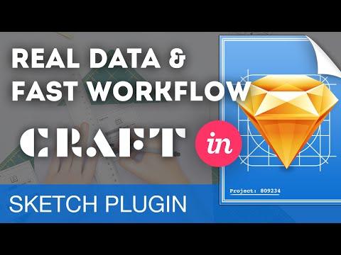 Craft by InVision • Sketch 3 Plugins Tutorial & Design Workflow