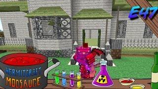 Minecraft Mods - ModSauce - HAUNTED BEGINNINGS!!! ( Hermitcraft Modded Minecraft E47 )