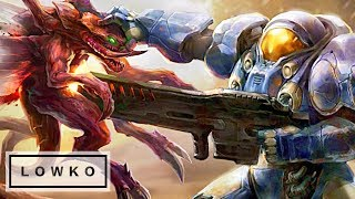 StarCraft 2: OVERWHELMING THE OPPONENT!