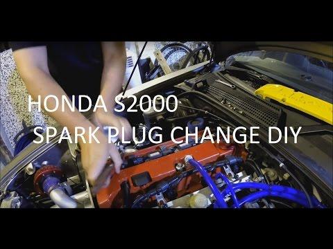 Honda S2000 Spark Plug DIY