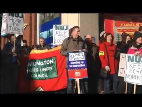 Messages of solidarity to Newsquest strikes in York, Bradford and Darlington