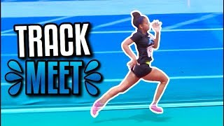 TRACK MEET VLOG! | Azlia Williams