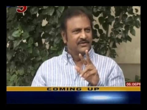 Mohan Babu Announces Political Entry - TV5