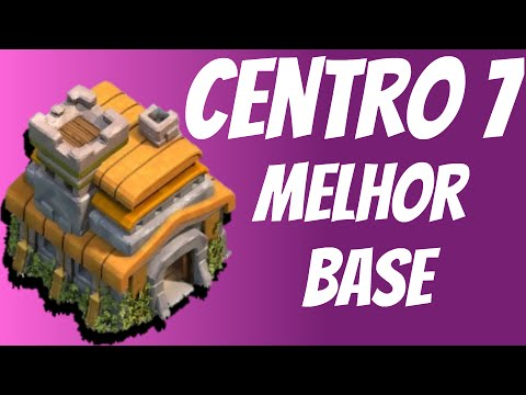Clash of Clans - O Melhor Defence Layout para Town Hall 7!