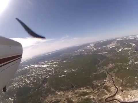 Flying from Centennial, CO to Jackson, WY in a Cessna 182 Skylane May 23-25 2014. Includes landings at Riverton, WY, Dubois, WY, Jackson, WY, Henry's Lake, ID, Rawlins, WY, and Laramie, WY....