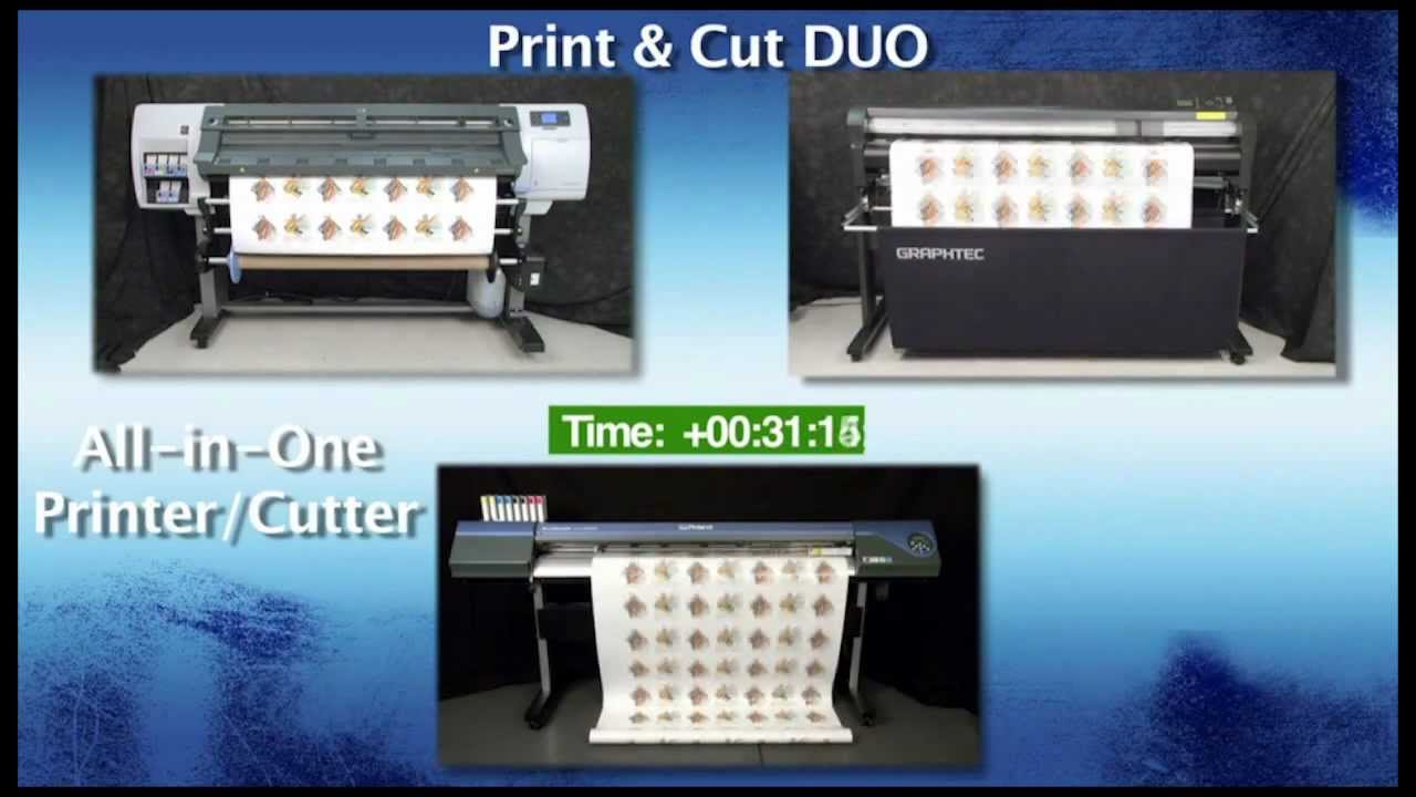 Speed Test Printer Amp Cutter Vs Single Printer Cutter Combo