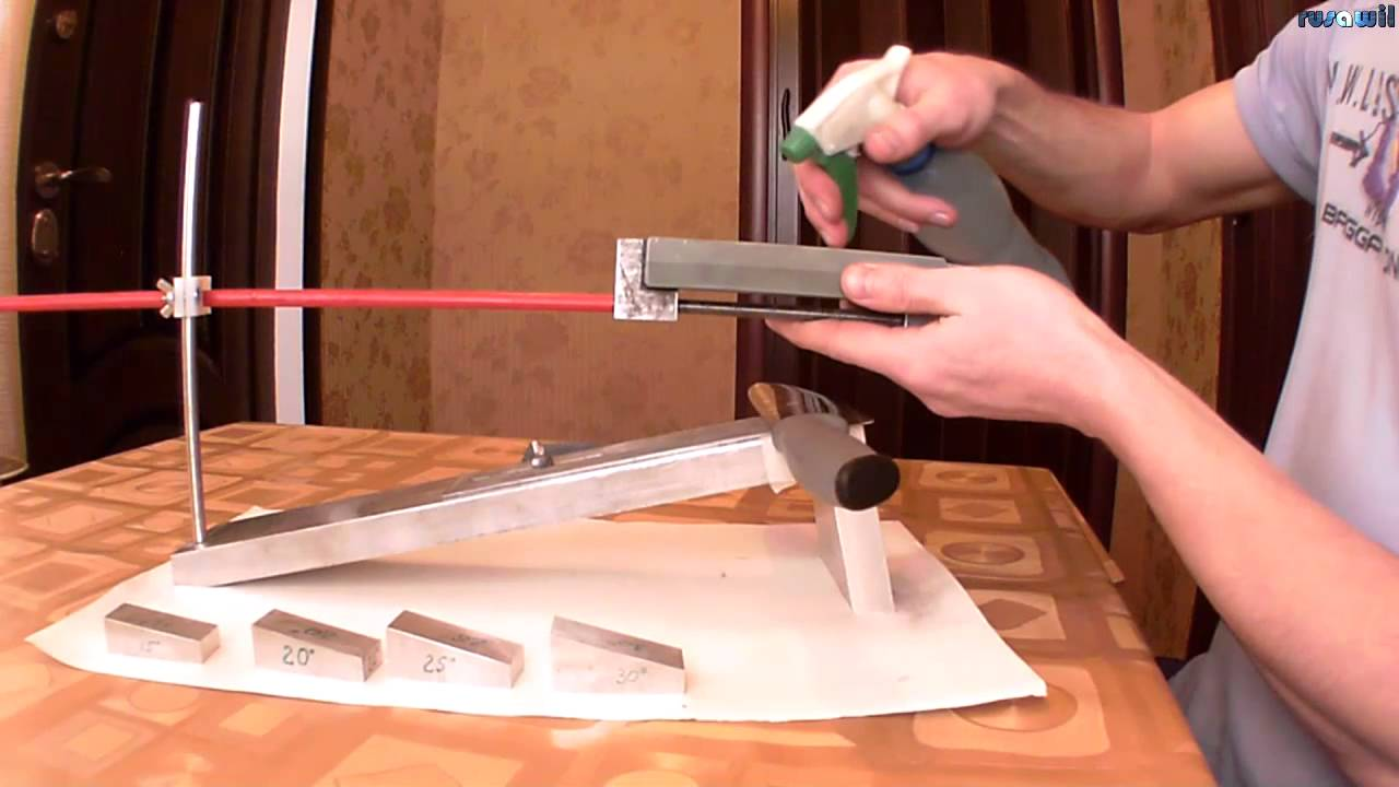 Заточку для ножей в домашних условиях 529