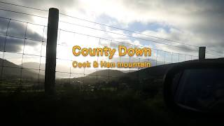 Cock and Hen Mountain County Down. Northern Ireland