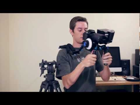 GH2 DSLR Rig: Part 4 (Shoulder Mount)