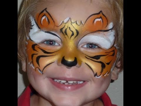 Fast Faces Tiger Mask Face Painting YouTube