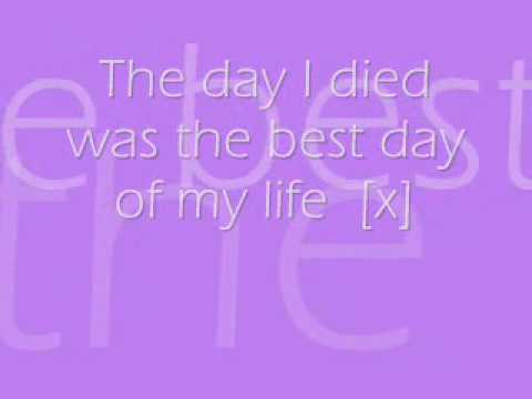 Just Jack The Day I Died Lyrics
