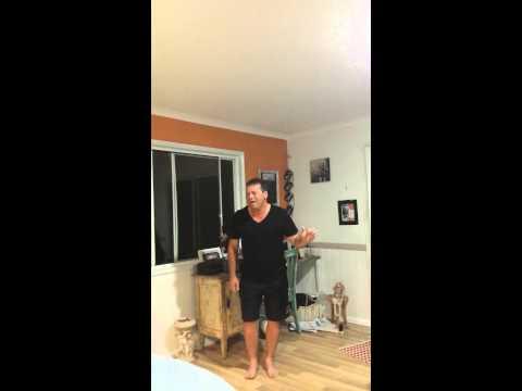 The Voice Australia 2015 audition Mark Wilson singing his cover version of Titanium