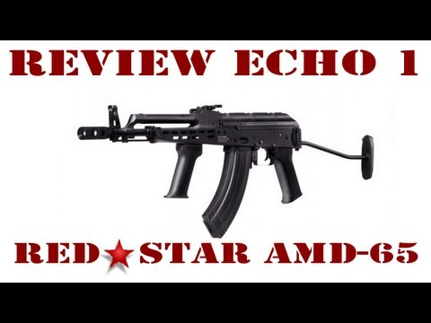 Echo 1 Red Star AMD-65 Airsoft Review