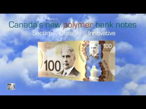Canada´s new polymer bank notes
