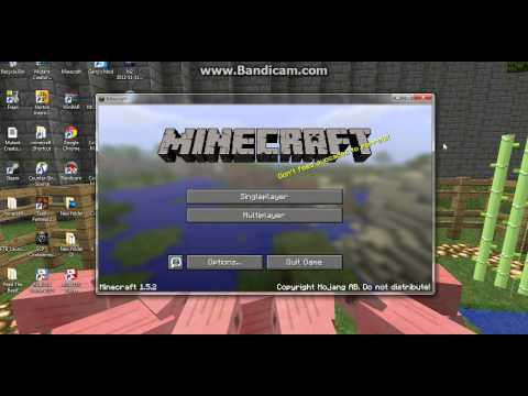 How to Install Optifine/HD Texture Pack for Minecraft 1.5.2