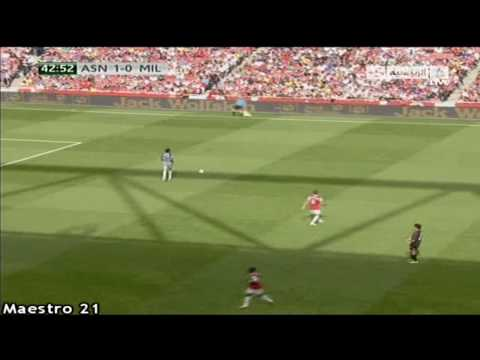 Flamini vs. Arsenal - 31-7-2010